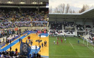 Burgos Like rememora los últimos partidos de fútbol y baloncesto con público a orillas del Arlanzón