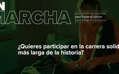 La Marcha AECC Burgos se disputa en internet del 3 al 6 de mayo