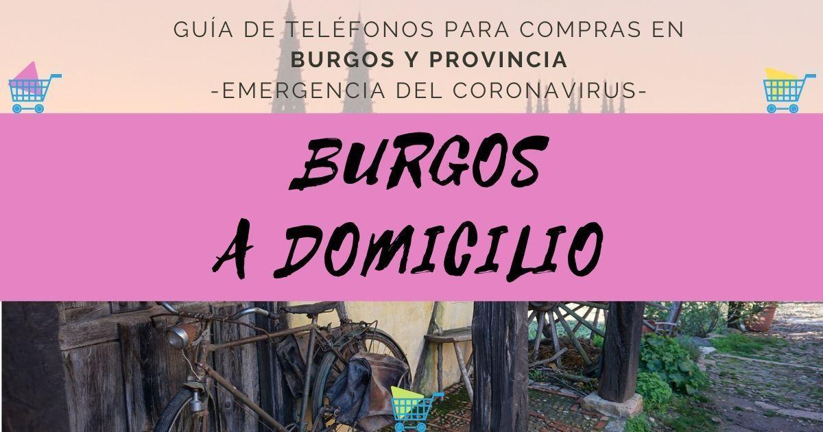 Burgos a Domicilio en ciudad y provincia