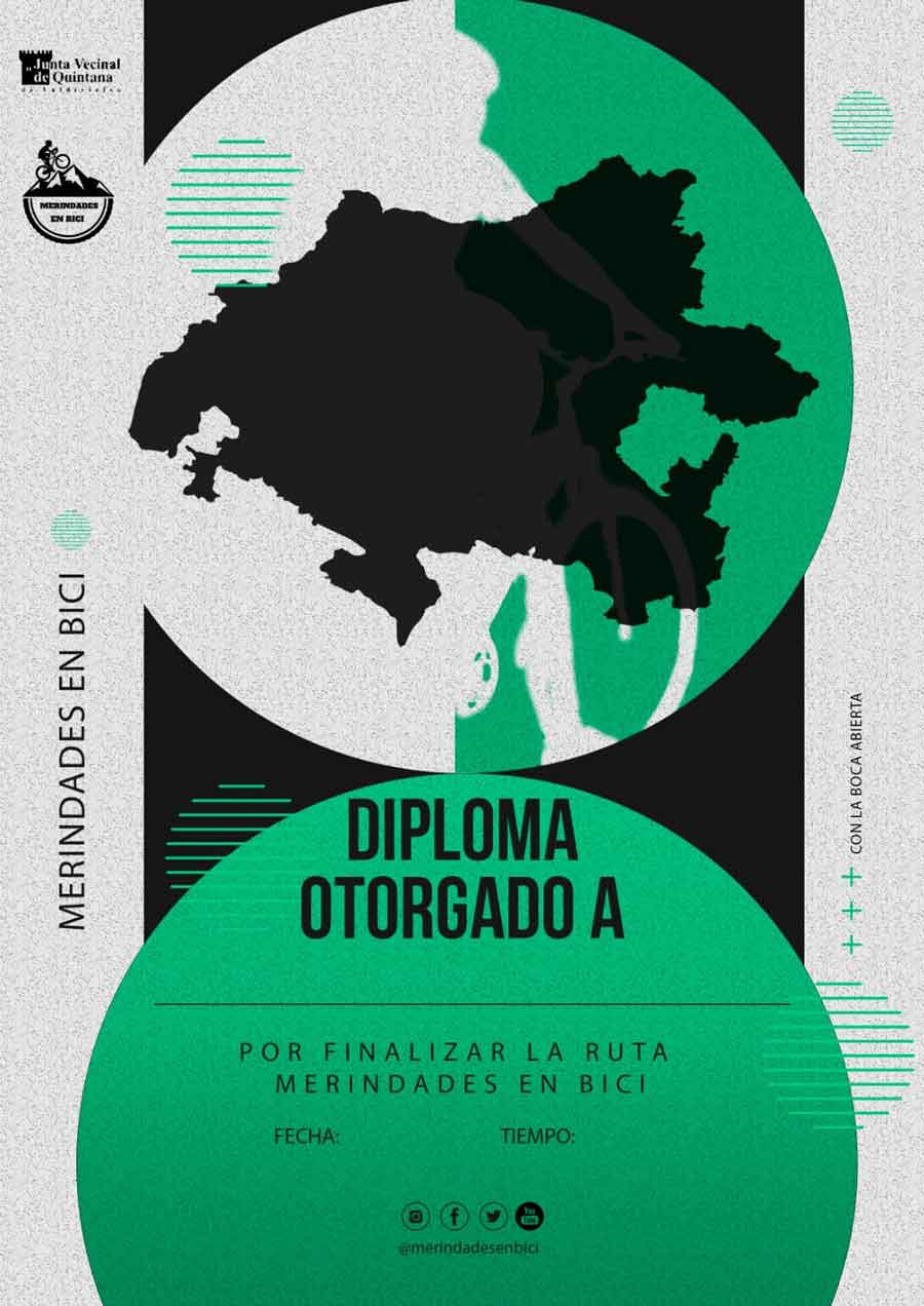 Diploma Merindades en Bici